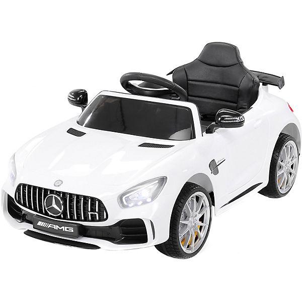 Kinder Elektroauto Mercedes GT-R 25 Watt, 2x6V, weiß, Actionbikes Motors