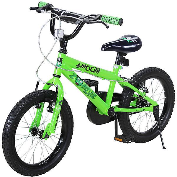 Actionbikes Kinder Fahrrad Zombie 16 Zoll Grün Actionbikes Motors