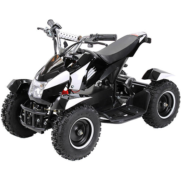 Elektro Miniquad Cobra 800 Watt, 3x12V, schwarz/weiß, Actionbikes Motors