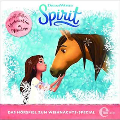 cd spirit, wild und frei - weihnachten in miradero, spirit   mytoys