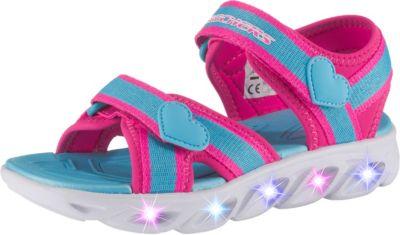 Sandalen Blinkies Hypno splash Splash Zooms für Mädchen, SKECHERS