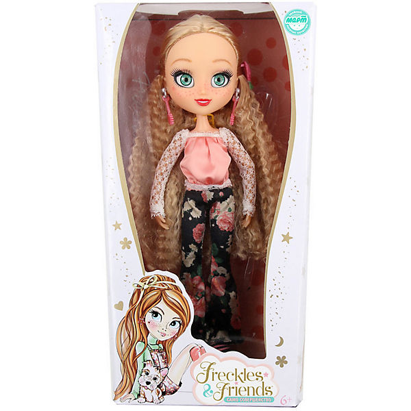 "Кукла Freckle & Friends ""Подружка-веснушка"" Квин, 27 см"