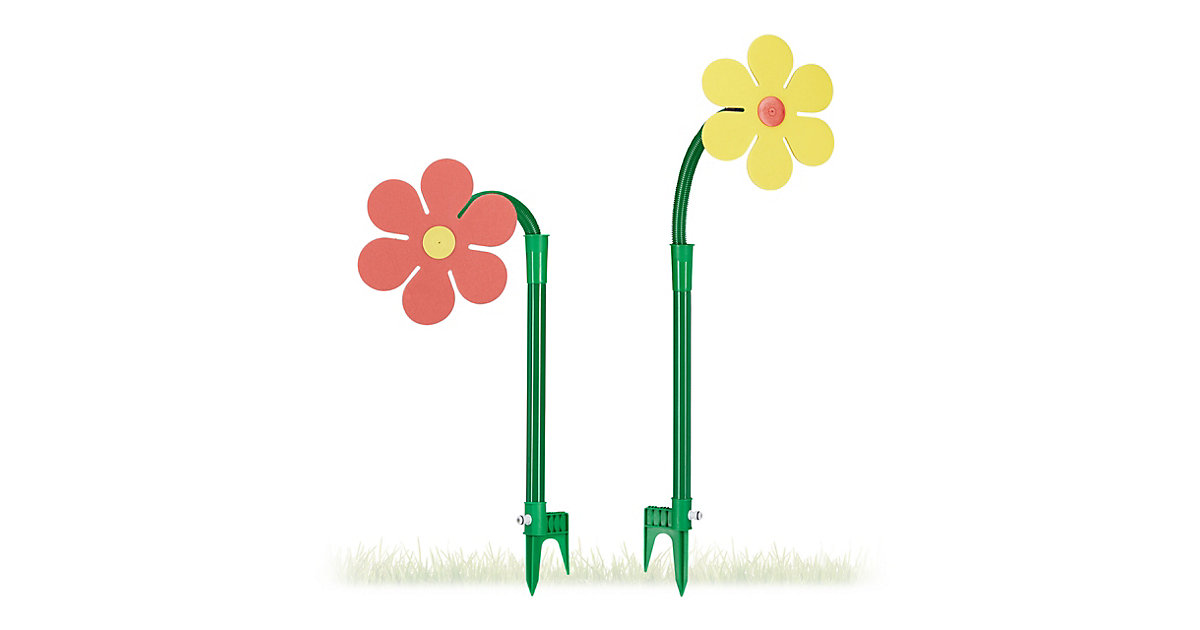 Sprinkler Blume 2er Set mehrfarbig