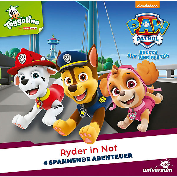 CD PAW Patrol 12 - Ryder in Not