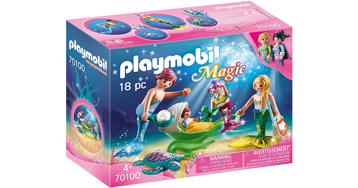 PLAYMOBIL® 70100 Familie mit Muschelkinderwagen