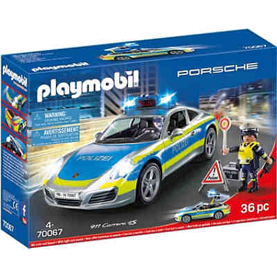 PLAYMOBIL® 70067 Porsche 911 Carrera 4S Polizei