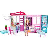 Раскладной домик для кукол Barbie