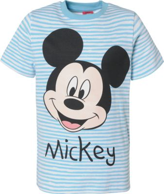 Disney Jungen Mickey Mouse Print Top T-Shirt Alter 3 bis 8 Jahre