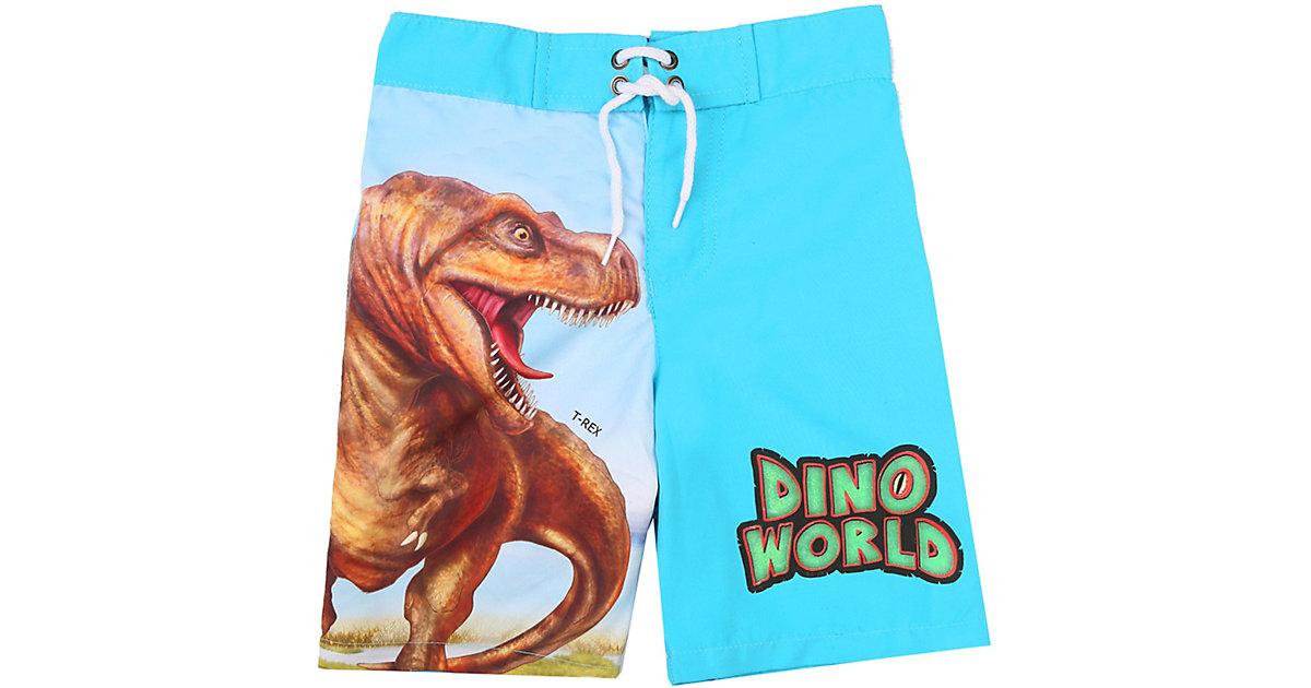 Dino World Kinder Badeshorts mit UV-Schutz 50+ blau Gr. 98 Jungen Kleinkinder
