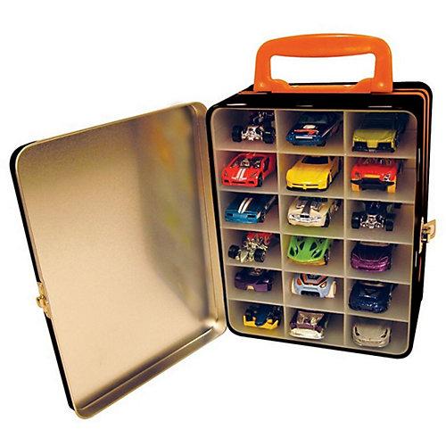Портативный кейс  для хранения Hot Wheels, оранжевый