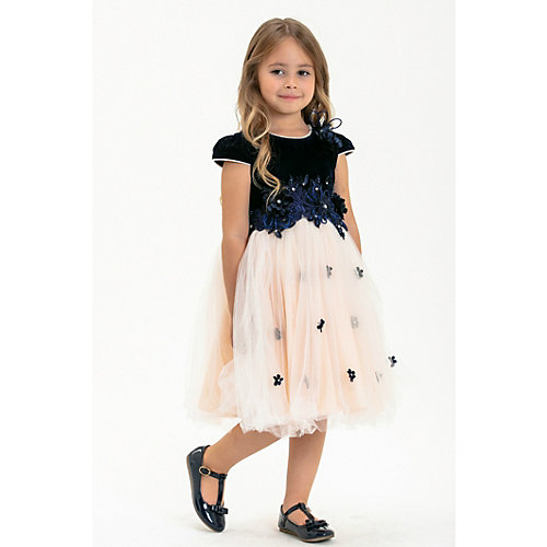 Нарядное платье Baby Steen - темно-синий от Baby Steen