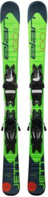 Горные лыжи с креплениями Elan Jett, 90 см