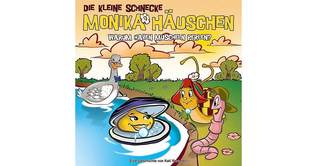 CD Monika Häuschen 52 - Warum haben Muscheln Perlen Hörbuch