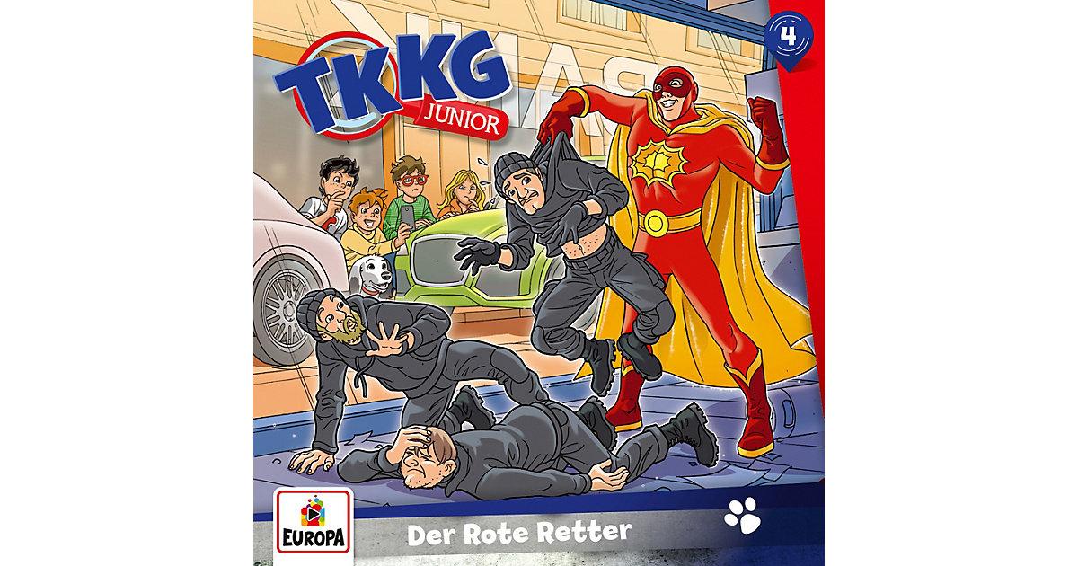 CD TKKG Junior 04 - Der rote Retter Hörbuch