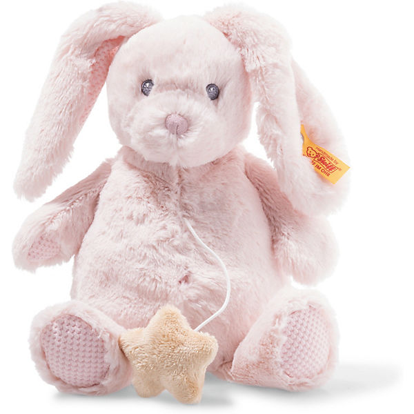 f8178a8f16 Soft Cuddly Friends Belly Hase Spieluhr (26 cm) [rosa], Steiff Baby ...