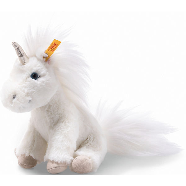 Soft Cuddly Friends Unica Floppy Einhorn (18 cm) [weiß], Steiff