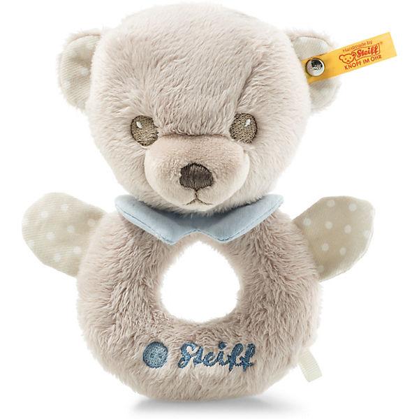 c29f6221fcd05 Hello Baby Teddybär Levi Rassel (15 cm)  grau blau
