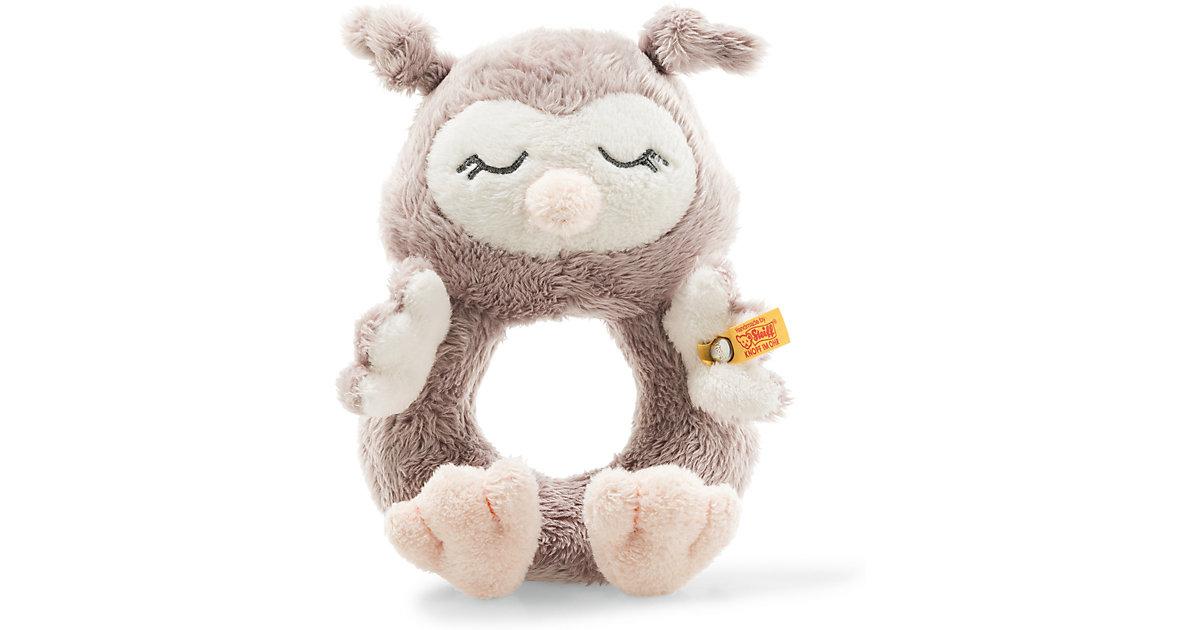 Steiff · Soft Cuddly Friends Ollie Eule Rassel (14 cm) (rosébraun)