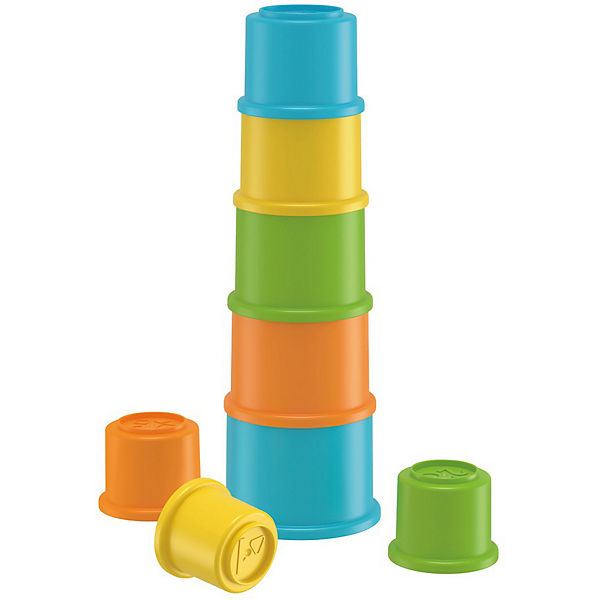 Fisher-Price Bunte Stapelbecher