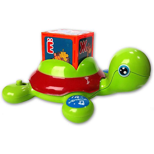 "Развивающая игрушка Азбукварик ""Черепашка Умняшка"", с кубиками"