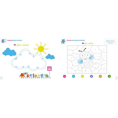 """Развивающая тетрадь """"KidsBrain"""" Логическое мышление, 3 года от Clever"""