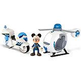 """Игровой набор IMC toys """"Disney Mickey Mouse"""" Микки и весёлые гонки: Полицейский транспорт"""
