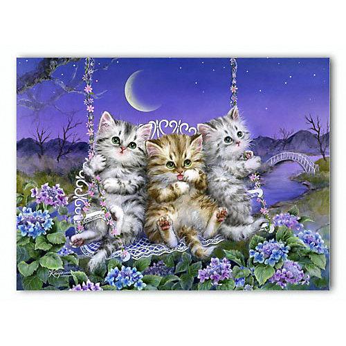 """Пазлы Pintoo """"Кайоми. Котята на качелях"""", 150 элементов от Pintoo"""