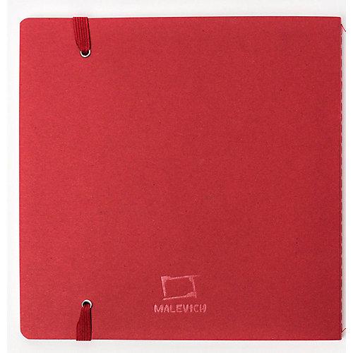 """Скетчбук Малевичъ для акварели """"Waterfall Nature"""", бордовый, 20 листов от Малевичъ"""