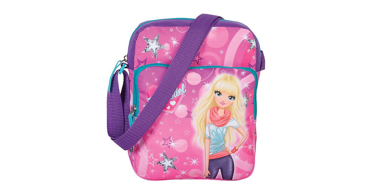 Kindergartentasche Like a Topmodel lila-kombi