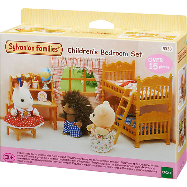 """Набор Sylvanian Families """"Детская комната с двухэтажной кроватью"""""""