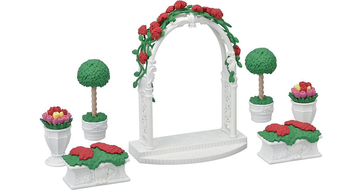 Sylvanian Families Gartenset mit Torbogen