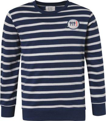 Polos & Shirts Swearshirt mit schöner Applikation petrolblau Gr.S Damen-Reitbekleidung