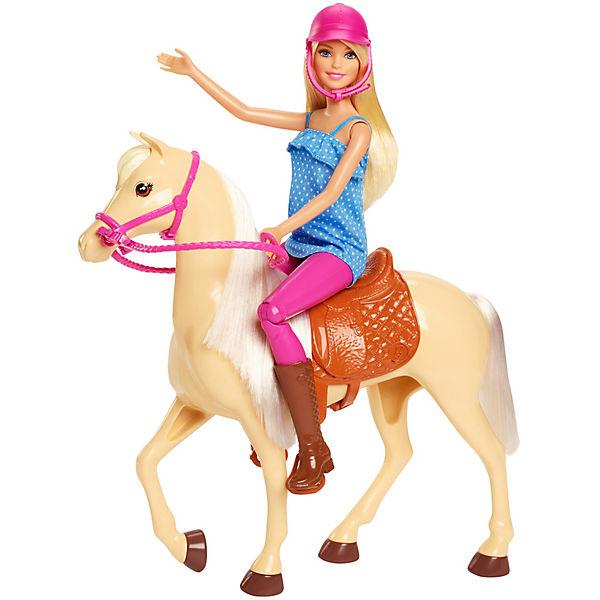 Игровой набор с куклой Barbie, Барби и лошадь