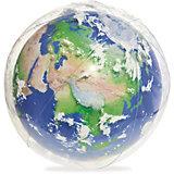 Надувной мяч Земля с подсветкой,61 см , Bestway