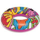 Круг для плавания Bestway Поп-арт, с ручками