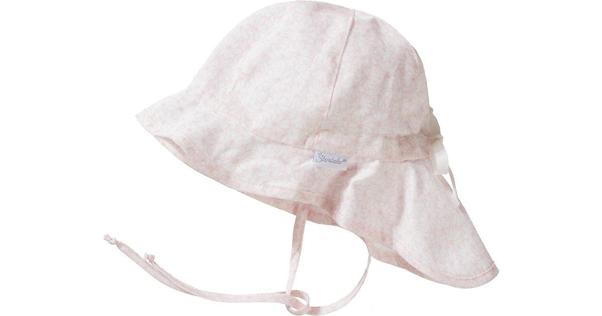 Sterntaler · Sonnenhut mit Nackenschutz zum Binden Gr. 51 Mädchen Kleinkinder