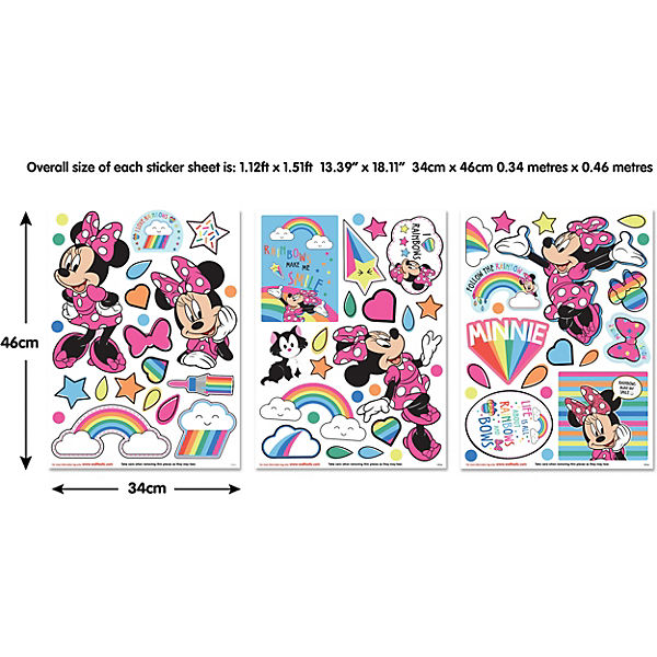Wandsticker Disney Minnie Mouse, Disney Minnie Mouse | myToys