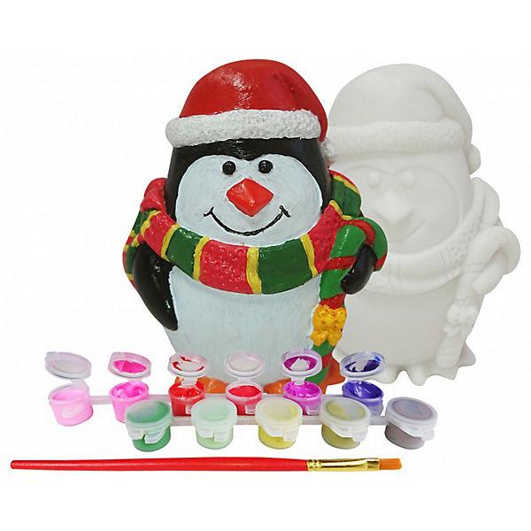 """Копилка Color KIT """"Новогодний пингвин"""""""