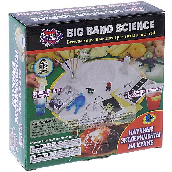 """Набор для опытов Big Bang Science """"Научные эксперименты на кухне"""""""