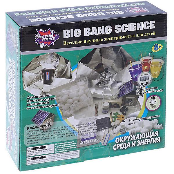 """Набор для опытов Big Bang Science """"Окружающая среда и энергия"""""""