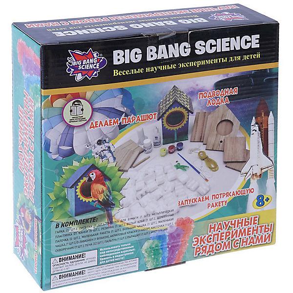 """Набор для опытов Big Bang Science """"Научные эксперименты рядом с нами"""""""