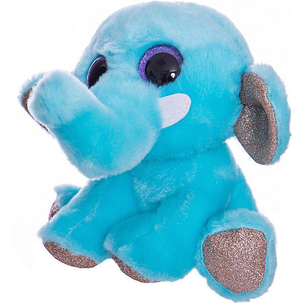 Мягкая игрушка Teddy Слон, 14 см