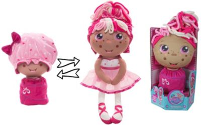 """Мягкая кукла 2 в 1 1toy """"Девчушка-вывернушка"""" Катюшка"""