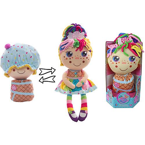 """Мягкая кукла 2 в 1 1toy """"Девчушка-вывернушка"""" Настюшка от 1Toy"""