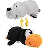 Мягкая игрушка-вывернушка 1toy Морской котик-Пингвин, 40 см