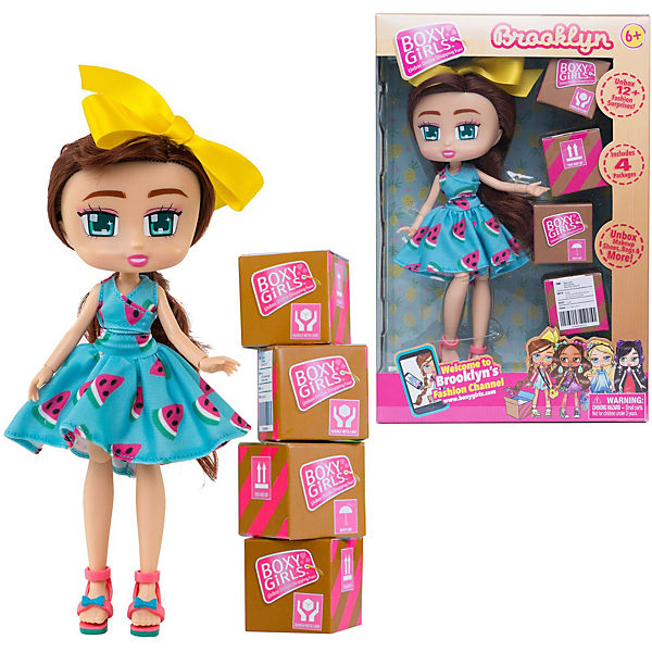 "Кукла 1Toy ""Boxy Girls"" Бруклин 20 см, с аксессуарами"