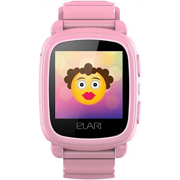 Часы-телефон Elari Kidphone 2, розовые