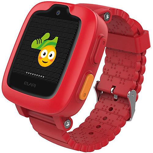 Часы-телефон Elari Kidphone 3G, красные