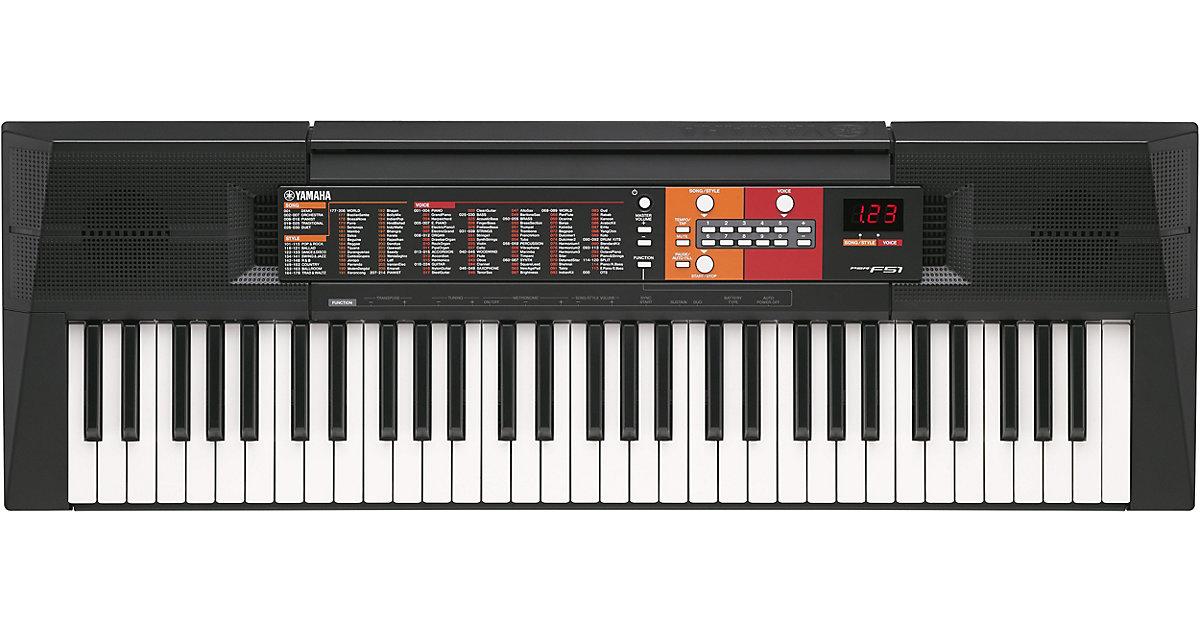 Yamaha Keyboard PSR-F51 schwarz