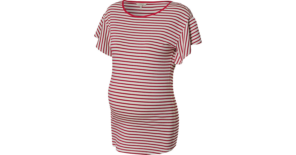 Umstandshirt rot/weiß Gr. 44 Damen Kinder